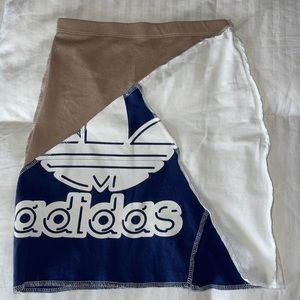 Frankie Collective Adidas Patchwork Mini Skirt